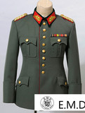 German General's uniform and rank suit